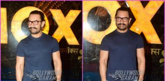 Aamir Khan promotes Secret Superstar at a theatre – PHOTOS