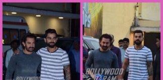 Photos: Aamir Khan and Virat Kohli look dapper at a Secret Superstar promotional shoot for Diwali