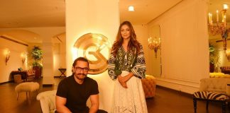 Aamir Khan visits Gauri Khan's flagship store Gauri Khan Designs