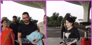 Secret Superstar lead actors leave for different destinations for film promotions – Photos