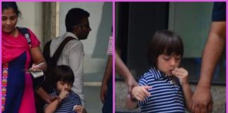 Shah Rukh Khan's son AbRam snapped after school – PHOTOS
