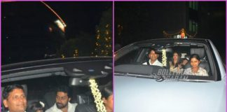 Aishwarya Rai Bachchan and Abhishek Bachchan spend quality time over dinner – Photos