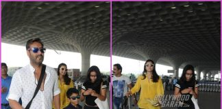 Ajay Devgn and family off to Goa for holidays on Diwali weekend – PHOTOS
