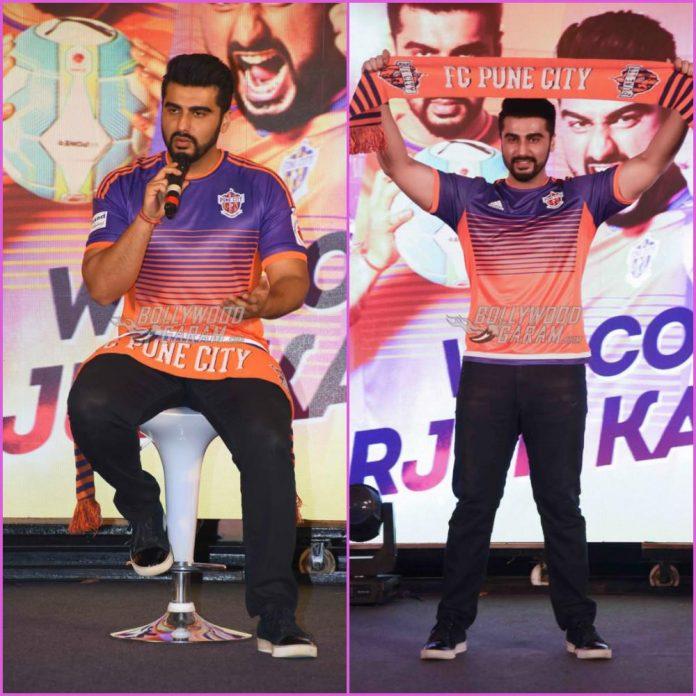 Arjun Kapoor FC Pune