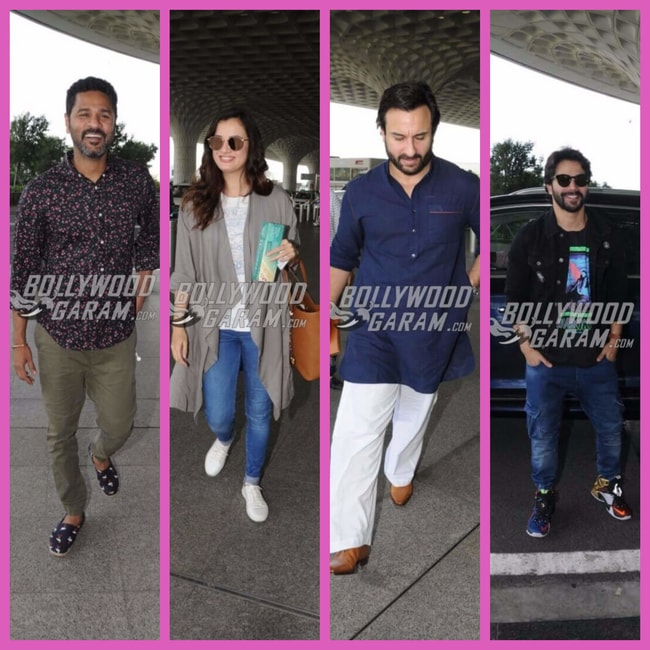 Bollywood celebs airport Oct 6'17