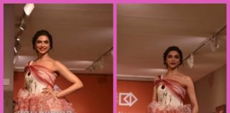 Photos: Deepika Padukone becomes the showstopper walking the ramp for designers Gauri and Nainika