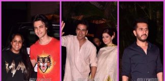 Akshay Kumar, wife Twinkle Khanna and other popular celebs grace Diwali bash – Photos