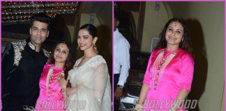 Karan Johar and Deepika Padukone grace Diwali bash hosted by Rani Mukherji – Photos