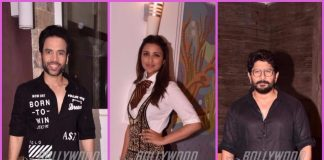 Photos: Tusshar Kapoor, Parineeti Chopra and Arshad Warsi promote Golmaal Again at a photoshoot