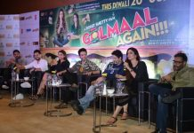 Lead actors of Golmaal Again host promotional press event in Delhi – PHOTOS