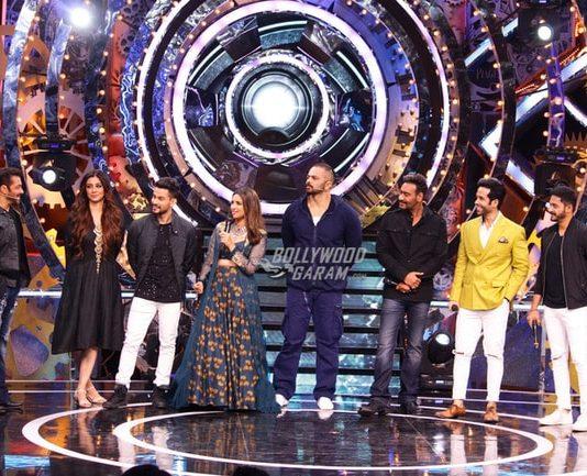 Golmaal Again team visits as controversies overpower Salman Khan's Bigg Boss 11 – Photos