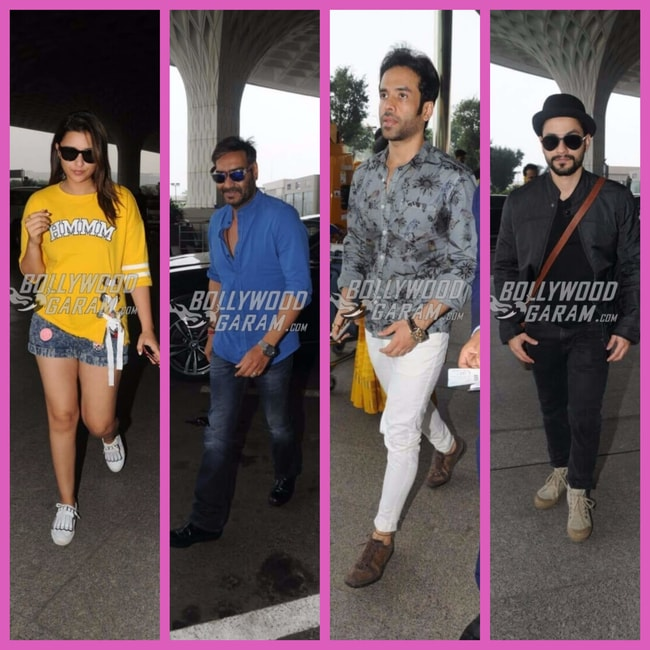 Golmaal Again team promotions
