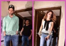 Hrithik Roshan and ex-wife Sussanne Khan spend time with kids at movies – PHOTOS