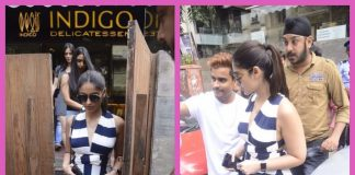 Ileana D'Cruz spends leisure time outside a popular restaurant in Mumbai – Photos