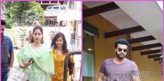 Arjun Kapoor and Jhanvi Kapoor snapped on a busy day – Photos