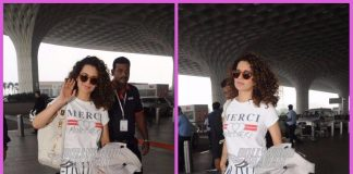 Kangana Ranaut leaves for hometown for Diwali celebrations – Photos