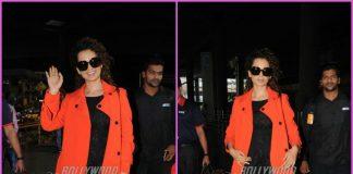 Kangana Ranaut returns to Mumbai after Diwali holidays – PHOTOS