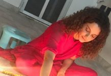 Kangana Ranaut ditches glittery Diwali parties, spends time with family