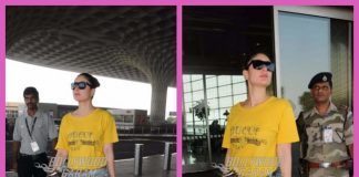 Kareena Kapoor leaves for Dubai and makes a bright appearance at airport – Photos