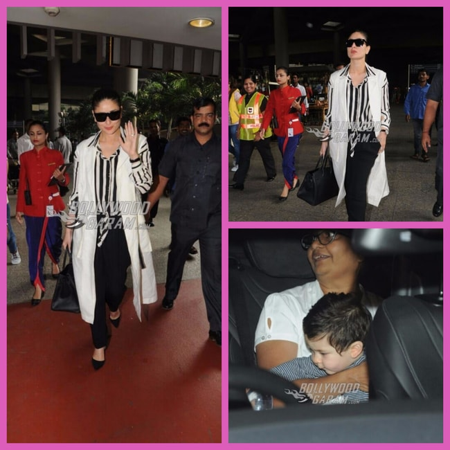 Kareena Kapoor airport look October 15 2017