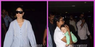 Kareena Kapoor snapped with son Taimur Ali Khan at airport- PHOTOS