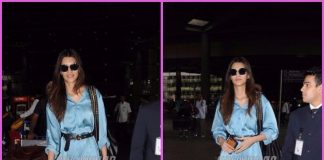 Kriti Sanon snapped returning from Ahmedabad in a stylish ensemble – Photos