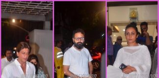 Shah Rukh Khan and other colleagues grace prayer meet of Kundan Shah – Photos