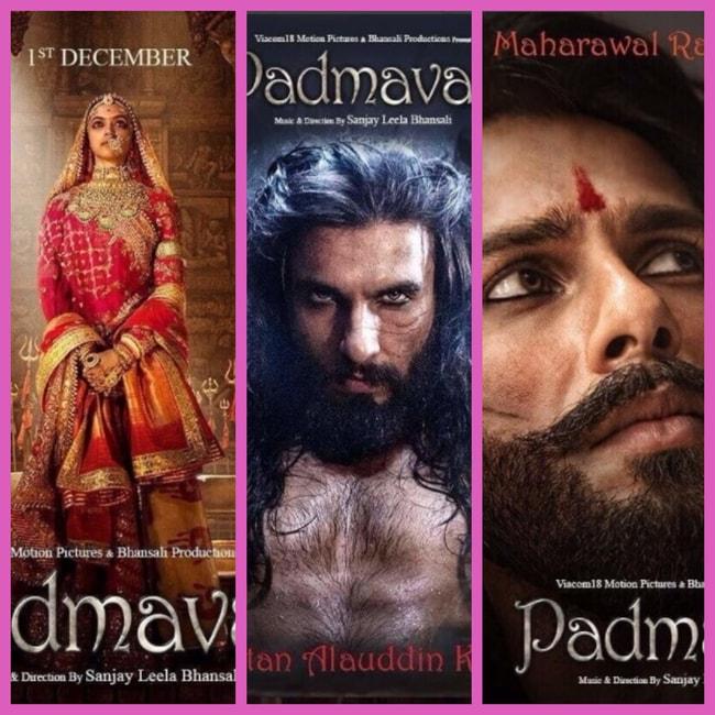 Padmavati looks