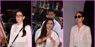 B'town celebrities grace prayer meet of filmmaker Ram Mukherjee – Photos
