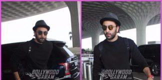 Stylish Ranbir Kapoor looks dapper at airport – Photos