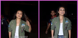Rani Mukherji all smiles on a travel schedule – PHOTOS