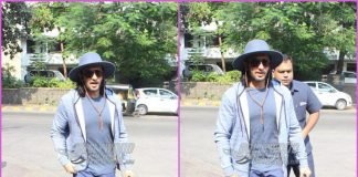 Ranveer Singh catches some workout time – PHOTOS