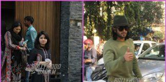 Ranveer Singh and Zaira Wasim on their respective schedules – PHOTOS