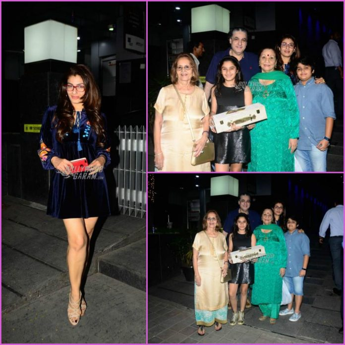Raveena Tandon family