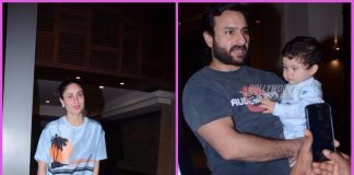 Saif Ali Khan with Kareena Kapoor and Taimur attend Soha Ali Khan's birthday bash – PHOTOS