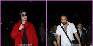 Sanjay Dutt and Sushmita Sen on travel schedules at airport – PHOTOS