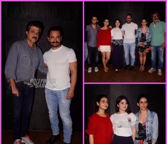 B-town celebrities grace screening of Secret Superstar – Photos