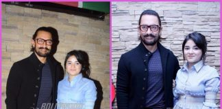 Aamir Khan and Zaira Wasim promote Secret Superstar in Delhi – Photos