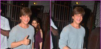 Shah Rukh Khan all smiles outside studio in Mumbai – PHOTOS