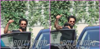 Shahid Kapoor waves for cameras post workout – PHOTOS