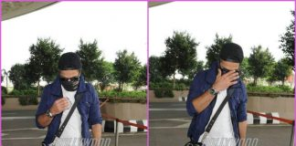 Shahid Kapoor hides his face at the airport – PHOTOS