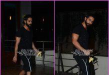 Shahid Kapoor gets back to gym post Diwali celebrations – Photos