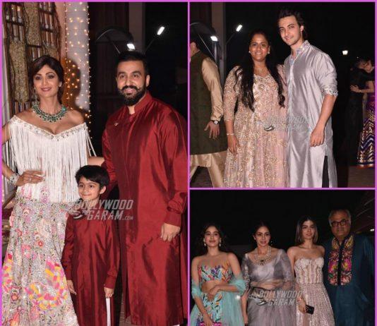 Shilpa Shetty and Raj Kundra host grand Diwali bash – PHOTOS