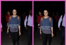 Shraddha Kapoor snapped in a casual look when returning home from Hyderabad – Photos