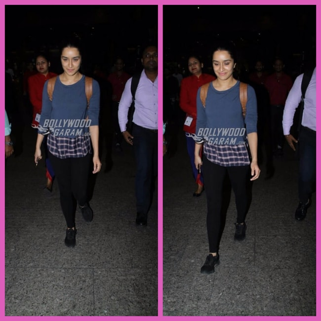 Shraddha Airport October 11 2017