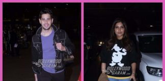 Siddharth Malhotra and Bhumi Pednekar spotted during travel schedules – PHOTOS