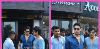 Siddharth Malhotra spent a leisure weekend at Bastian restaurant in Mumbai – Photos