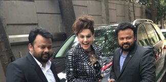 Taapsee Pannu flaunts her brand new luxury car on social media
