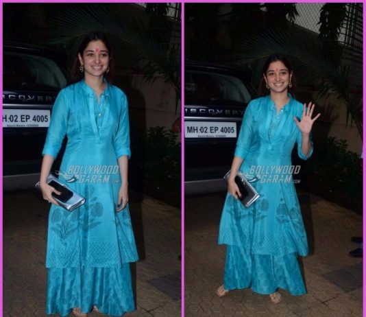 Tamannaah Bhatia smiles and poses in a festive mood – Photos