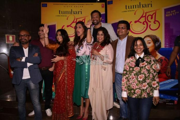 Tumhari Sulu trailer launch- 5